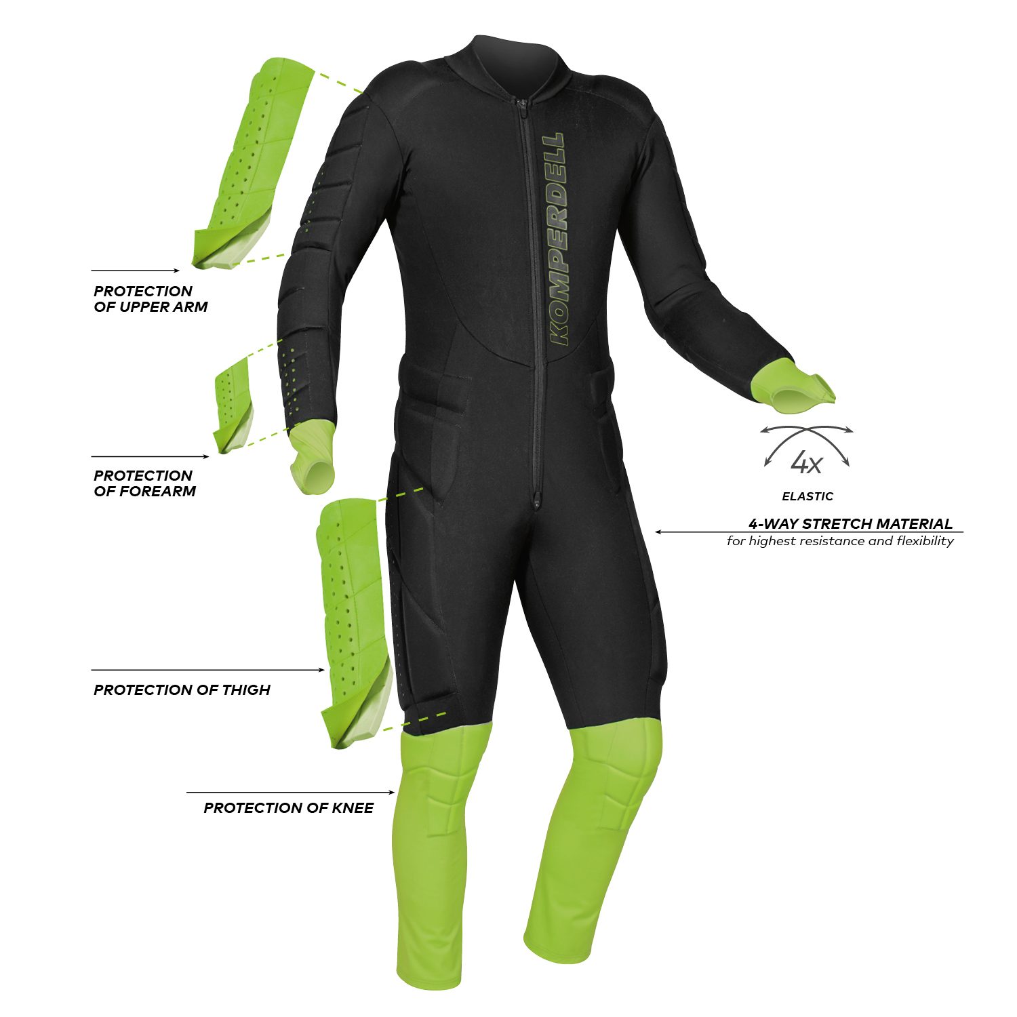 Slalom Race Suit Adult
